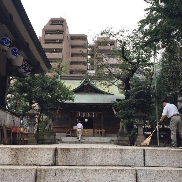 Photo taken at 大塚天祖神社 by aron on 9/21/2016