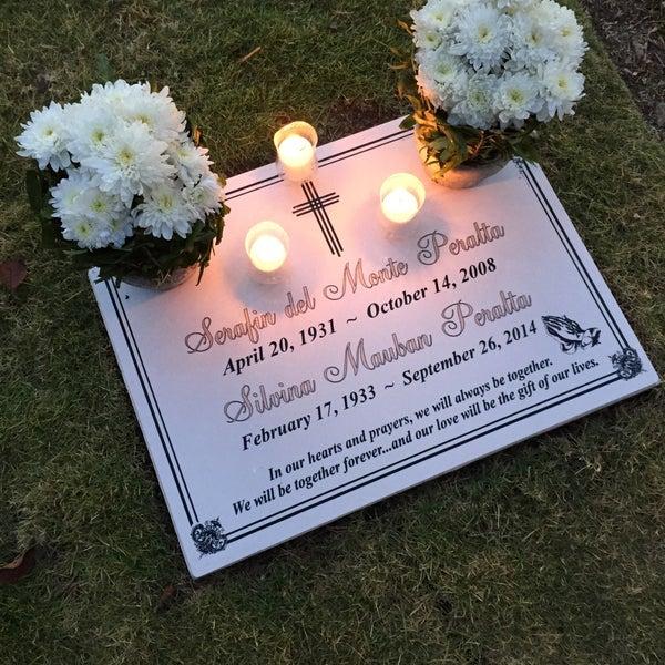 Photo taken at Manila Memorial Park by Rhoda Mitz P. on 2/13/2015