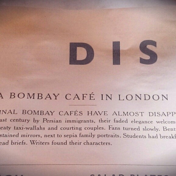 Photo taken at Dishoom by Tomas E. on 3/8/2014