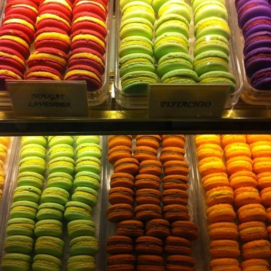 Photo taken at La Maison du Macaron by Ben H. on 7/31/2012