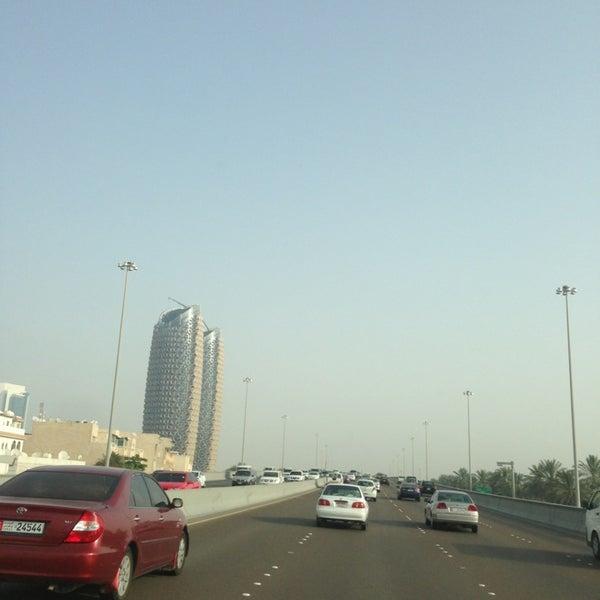 Photo taken at Corniche Al Gorm by Salem . on 6/3/2013