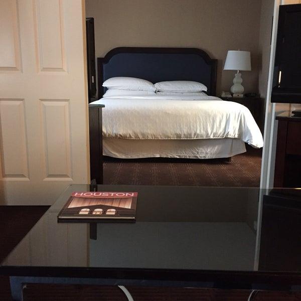 Photo taken at Sheraton Suites Houston Near The Galleria by Atheer K. on 1/1/2017