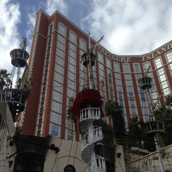 Photo taken at Treasure Island - TI Hotel & Casino by Bruce B. on 1/11/2013