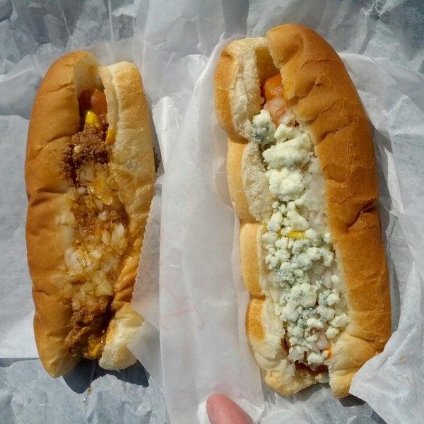 Photo taken at Hotdog Tommy's by Joe on 8/17/2013