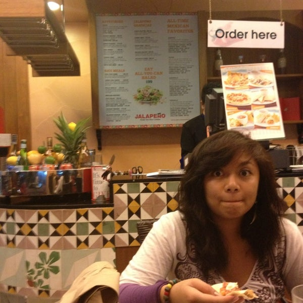 Photo taken at Jalapeño Authentic Tex-Mex Cuisine by Atty. Billy S. on 6/7/2013