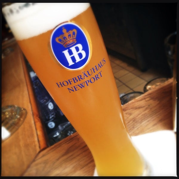Photo taken at Hofbräuhaus Newport by Shawn M. on 5/29/2013