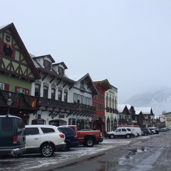 Photo taken at Town of Leavenworth by Adam C. on 12/17/2014