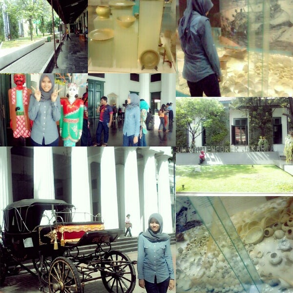 Photo taken at Museum Seni Rupa dan Keramik by Maryam N. on 5/4/2014