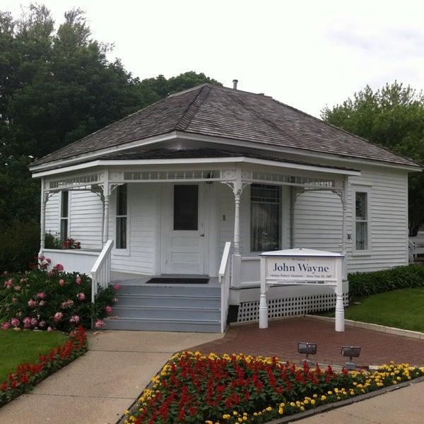 Photo taken at John Wayne Birthplace Museum by Debi C. on 6/9/2013
