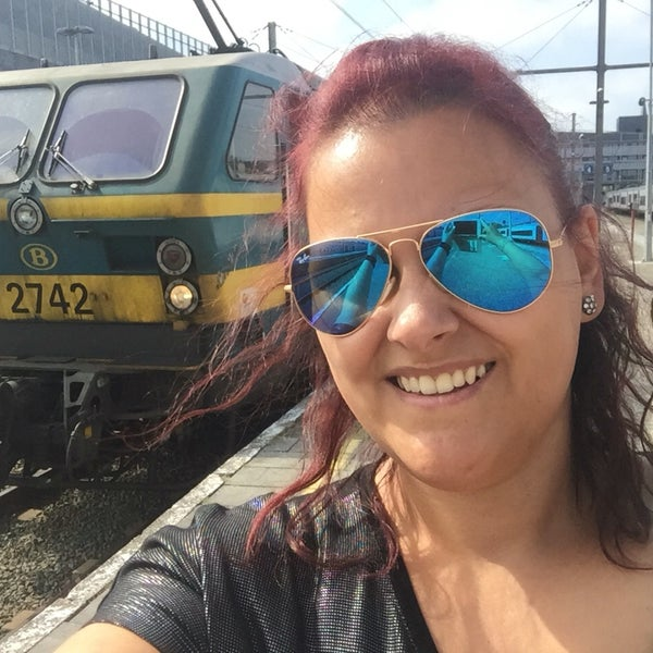 Photo taken at Station Blankenberge by Dorien W. on 7/21/2016