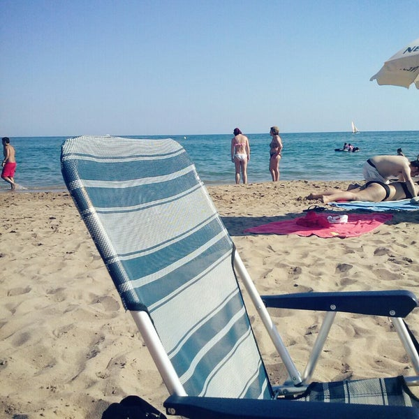 Photo taken at Platja de Calafell by sulivella on 7/7/2013