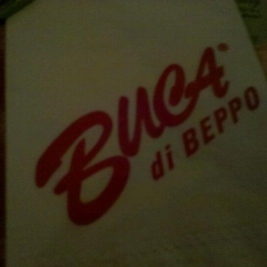 Photo taken at Buca di Beppo Italian Restaurant by Napua H. on 10/4/2012