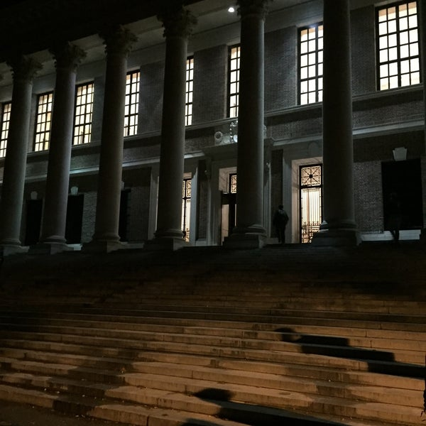 Photo taken at Widener Library by Angela B. on 11/4/2016