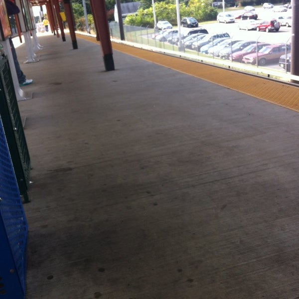 Photo taken at PATCO: Ashland Station by Ugo on 9/27/2013