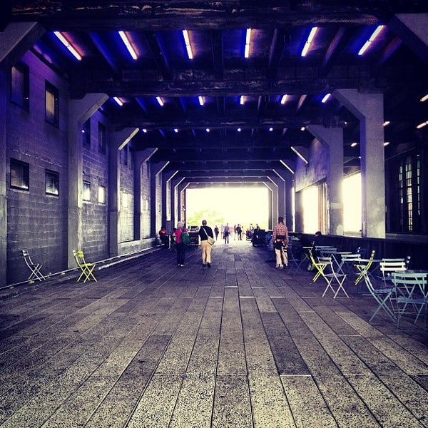 Photo taken at High Line 10th Ave Amphitheatre by John A. on 9/18/2012