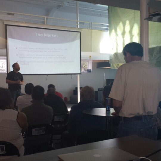 Photo taken at Tech Wildcatters (The Tech Church) by Gabriella D. on 3/19/2014