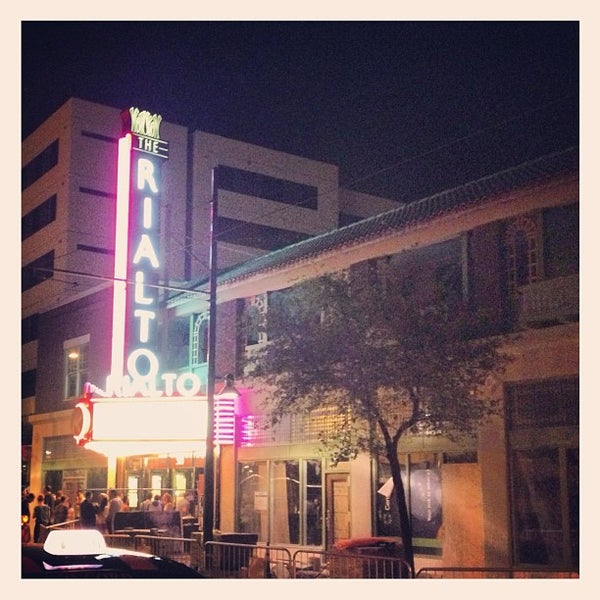 Photo taken at The Rialto Theatre by Jenny P. on 4/21/2013