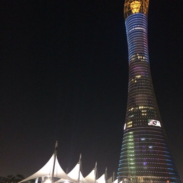 Photo taken at Aspire Park by Aisha A. on 2/23/2014