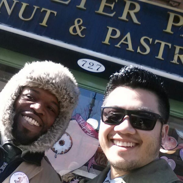 Photo taken at Peter Pan Donut & Pastry Shop by Rob P. on 2/17/2014