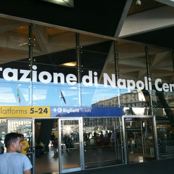 Photo taken at Stazione Napoli Centrale by Max N. on 6/24/2013