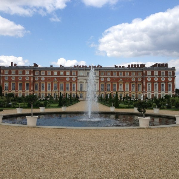 Photo taken at Hampton Court Palace by Michael W. on 6/25/2013