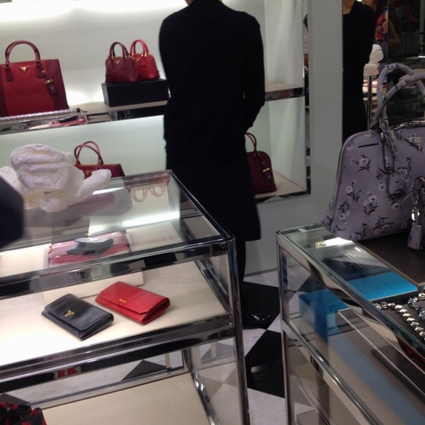 Photo taken at Prada by Aumjha^^ on 1/3/2014