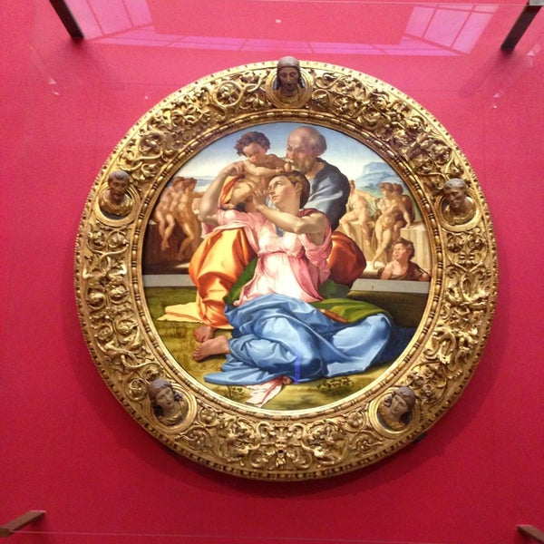 Photo taken at Uffizi Gallery by Aura Ma V. on 7/7/2013
