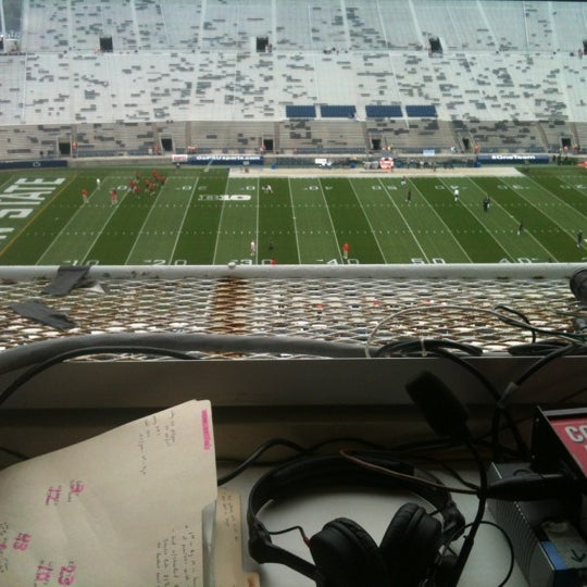 Photo taken at Beaver Stadium by Cameron G. on 10/27/2012
