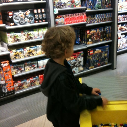 Photo taken at Lego Store by Craig L. on 4/16/2012