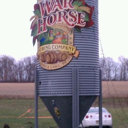 Photo taken at War Horse Brewery by Kathleen B. on 11/19/2011