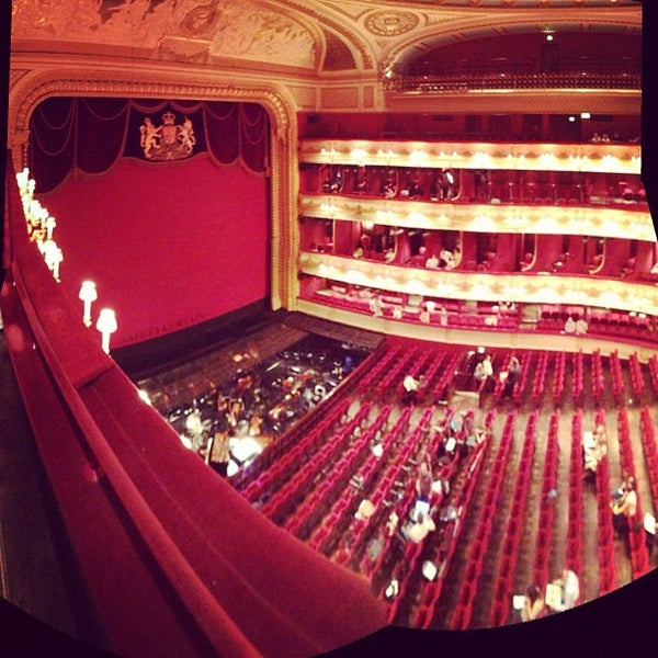 Photo taken at Royal Opera House by David A. on 7/1/2012