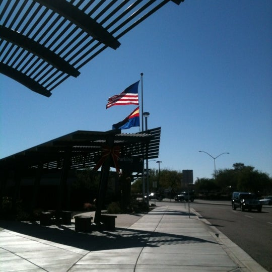 Photo taken at Phoenix-Mesa Gateway Airport (AZA) by Kyle B. on 11/26/2011