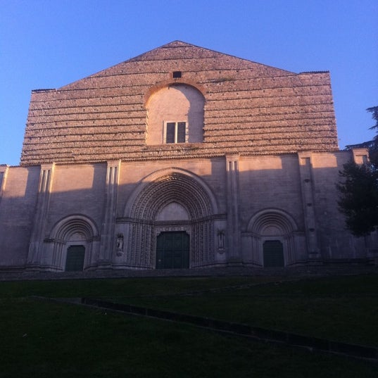 Photo taken at Tempio di San Fortunato by Gastro F. on 8/28/2011