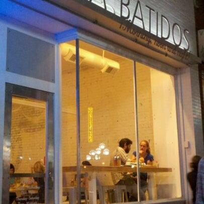 Photo taken at Frita Batidos by Jessica S. on 9/1/2011