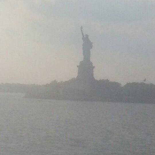 Photo taken at Staten Island Ferry Boat - Guy V. Molinari by Andra on 9/1/2012