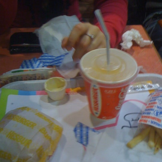 Photo taken at Hesburger by Rihards B. on 4/16/2012