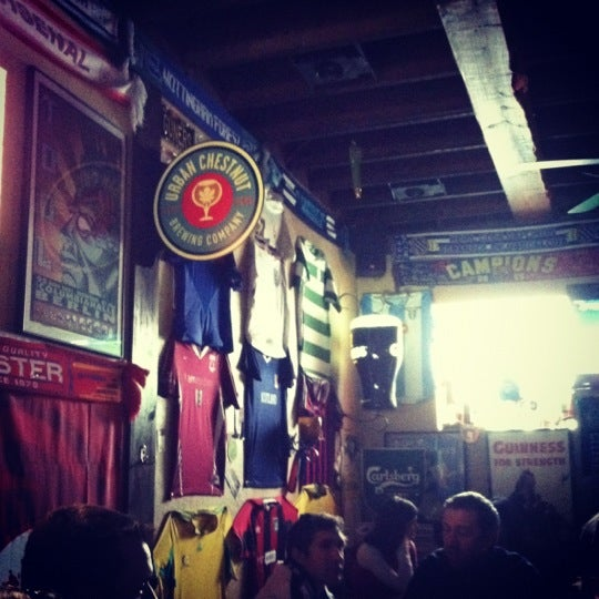 Photo taken at Amsterdam Tavern by Amber L. on 8/9/2012
