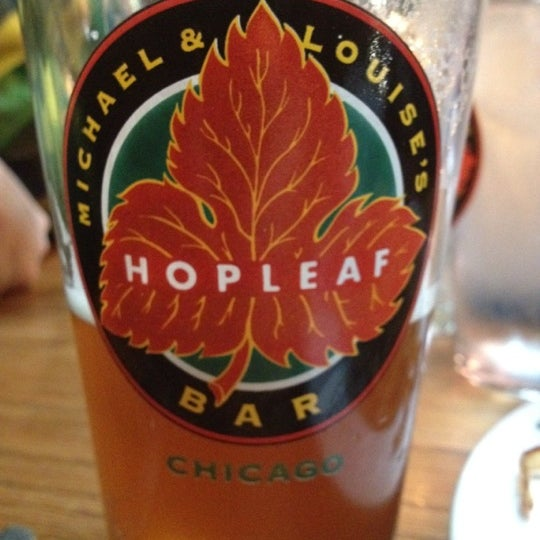 Photo taken at Hopleaf Bar by Joelle S. on 4/28/2012