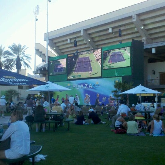 Photo taken at Indian Wells Tennis Garden by Coleen L. on 3/9/2012