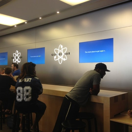 Photo taken at Apple Store, University Park Village by Marc F. on 6/1/2012