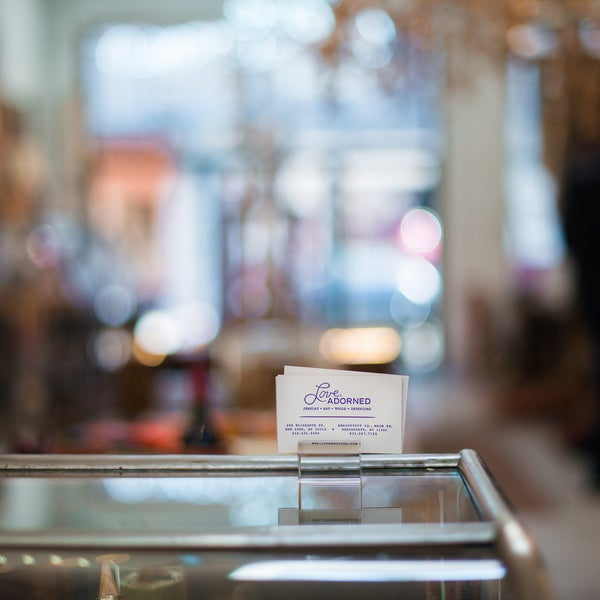 The eclectic boutique sells jewelry designed by its piercing professionals, unique t-shirts, and offbeat home goods