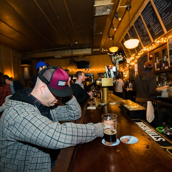 Choose from over 60 beers, 60 single-malt scotches, and 40 tequilas. But the best part about this First Avenue bar is their dog-friendly beer garden.