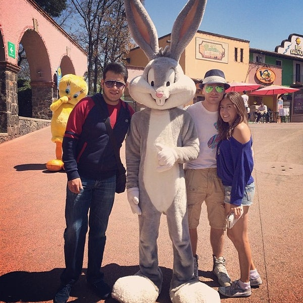 Photo taken at Six Flags by Jonathan M. on 3/12/2014