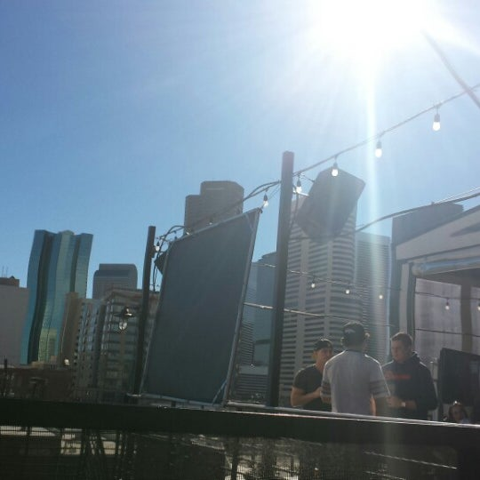 Photo taken at ViewHouse Eatery, Bar & Rooftop by K O. on 1/19/2014