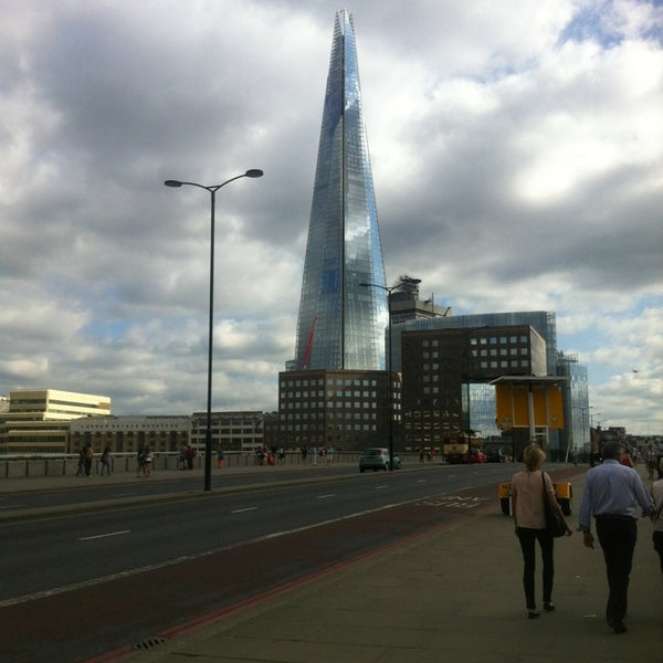 Photo taken at London Bridge by Niall G. on 7/20/2013