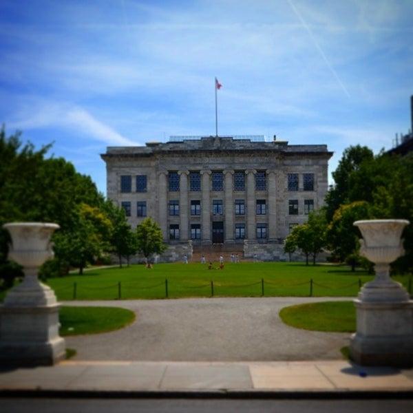 Photo taken at Harvard Medical School Quadrangle by Doug P. on 7/4/2014