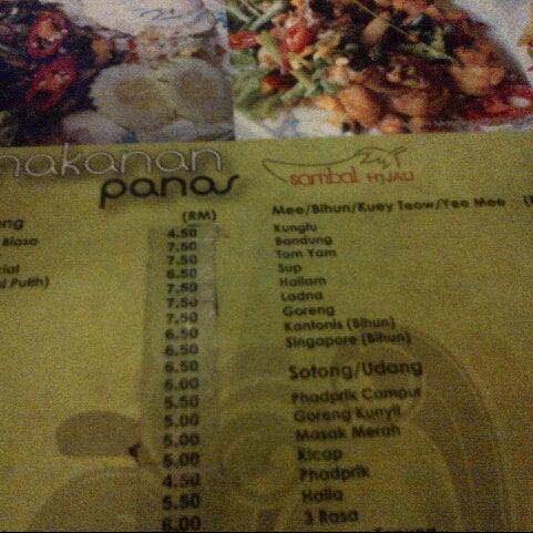 Photo taken at Restoran Sambal Hijau by RAZZ MANN on 12/5/2012