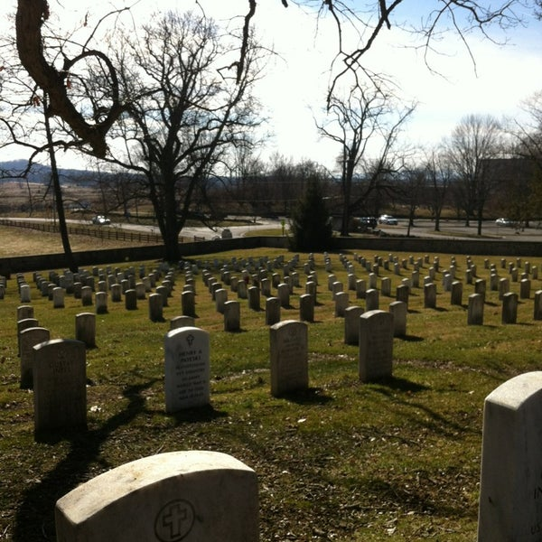 Photo taken at Soldiers' National Cemetery by Teresa R. on 2/10/2013