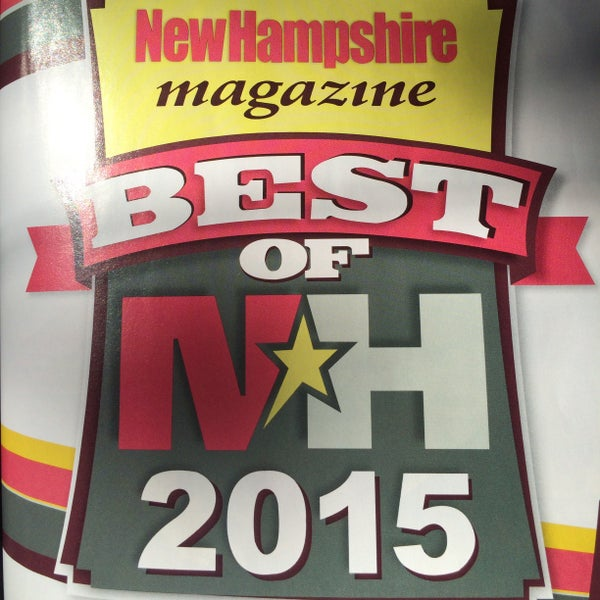 Best Romantic Country Inn (Best of NH 2015, NH Magazine)