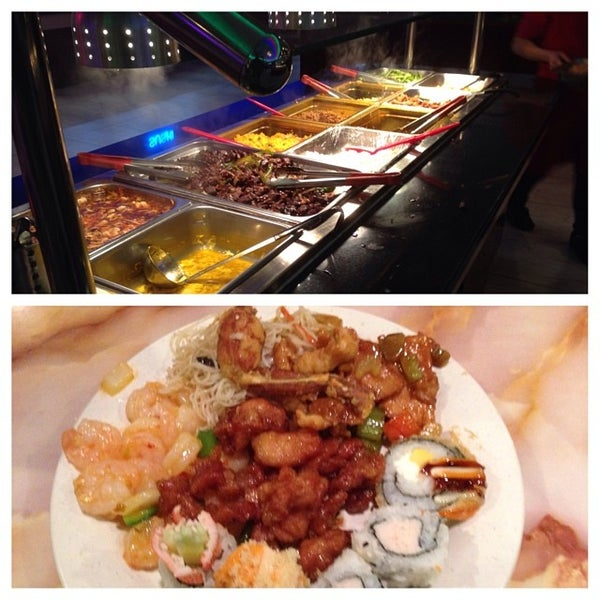 Photo taken at Hibachi Grill & Supreme Buffet by Dan G. on 12/25/2013
